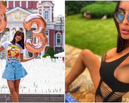 На 33: Жената на Борис Солтарийски все по-секси