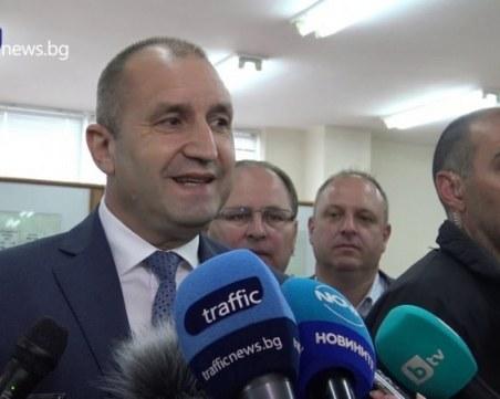 Президентът за дрона: За разлика от фантазията на Борисов, моята си има предел