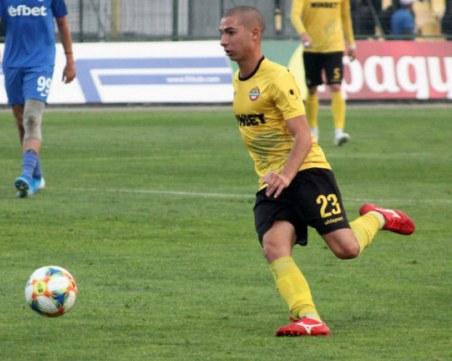 Футболист на Ботев с контузия, пропуска два мача