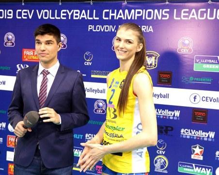 Нася Димитрова ще играе в най-титулувания румънски отбор