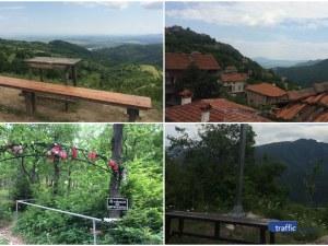 """На 40 км от Пловдив: Село на ръба на Родопите и """"кацнал"""
