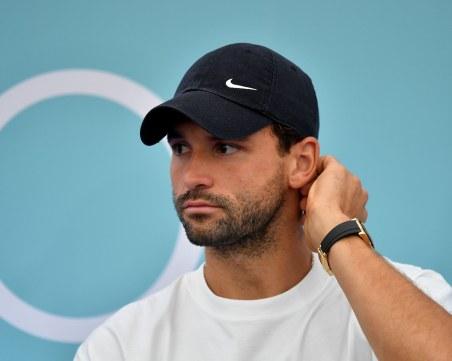 Заразеният Григор може да преобърне плановете на световния тенис