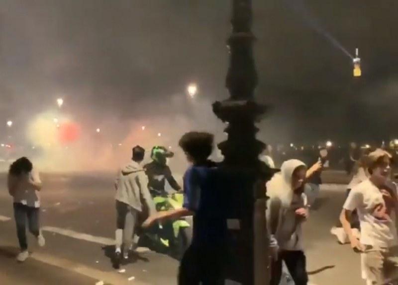 Масов купон в центъра на Париж прерасна в сблъсъци с полицията