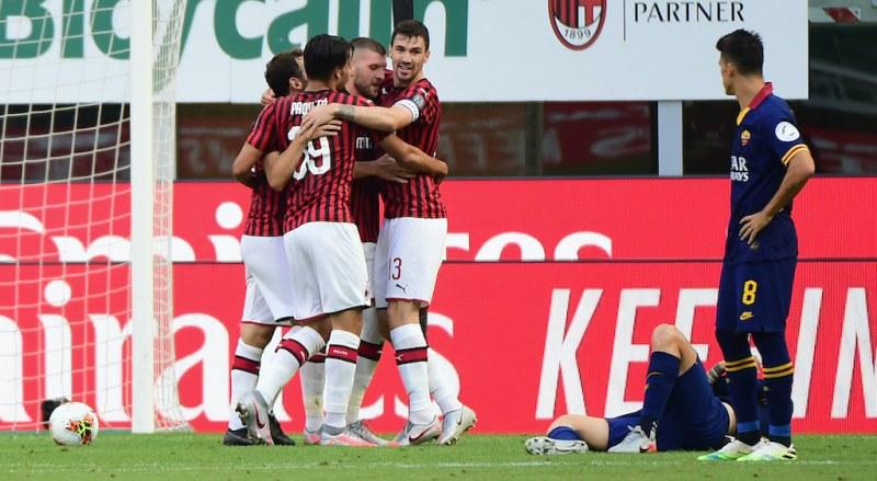 Милан продължава с възхода си, тресна Рома и ги отдалечи от Шампионска лига