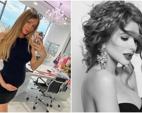 Пловдивчанката, оглавила корица на Forbes, бременна в седмия месец
