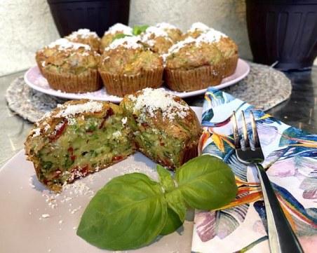 Мъфини от тиквички - лесно за приготвяне и ужасно вкусно