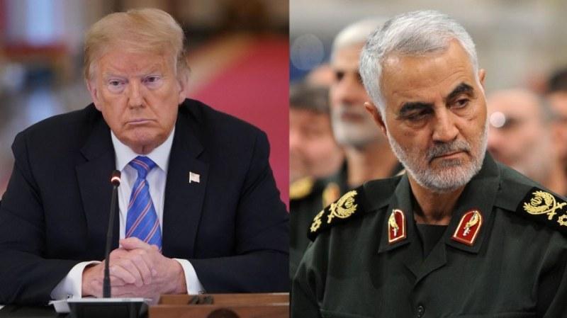 Иран издава заповед за арест на Тръмп за убийството на Сюлеймани