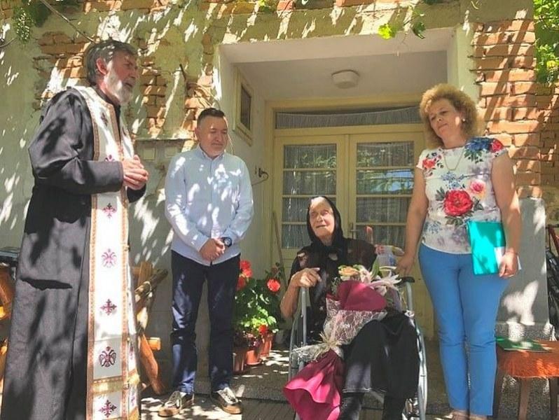 Баба Гена от Карловско навърши 105 години