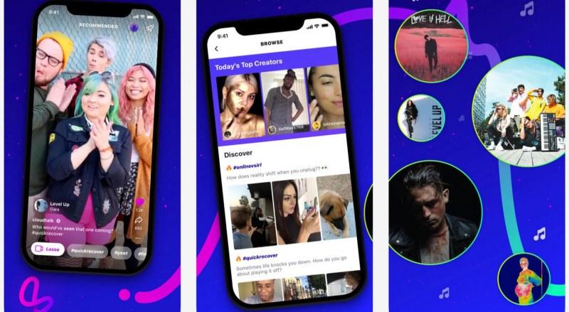 Facebook спира своите конкуренти на TikTok и Pinterest