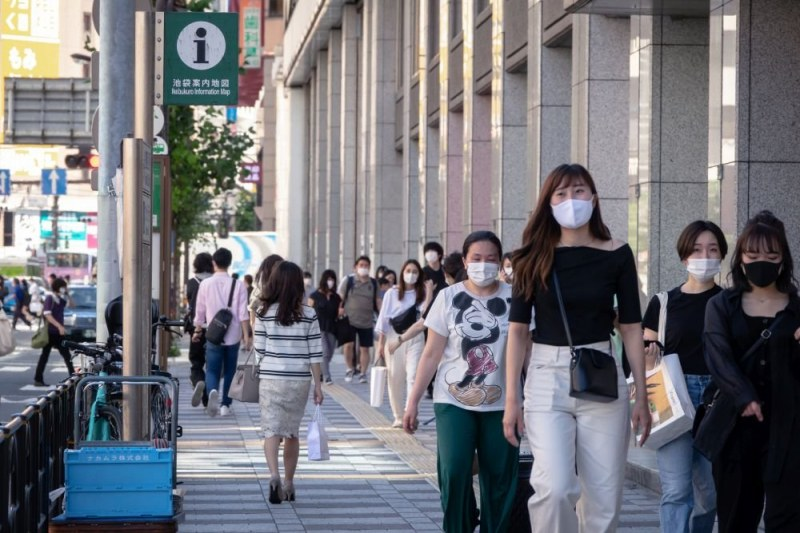 Рязко увеличение на броя на заразените с COVID-19 в Токио