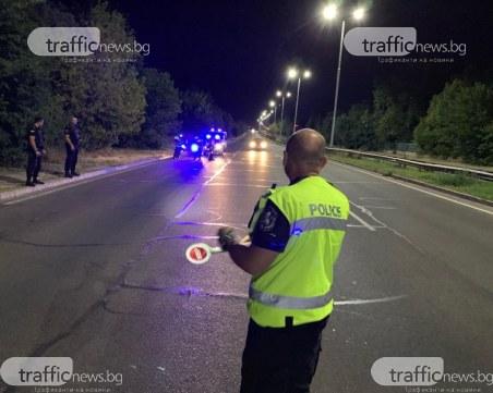 Пиян, друсан и без книжка предложи 100 лева подкуп на полицаи край Пловдив