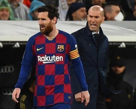 Зидан иска Меси да си остане в Барселона