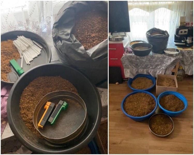 Разбиха цех за нелегален тютюн в Столипиново, над 120 килограма стока е иззета