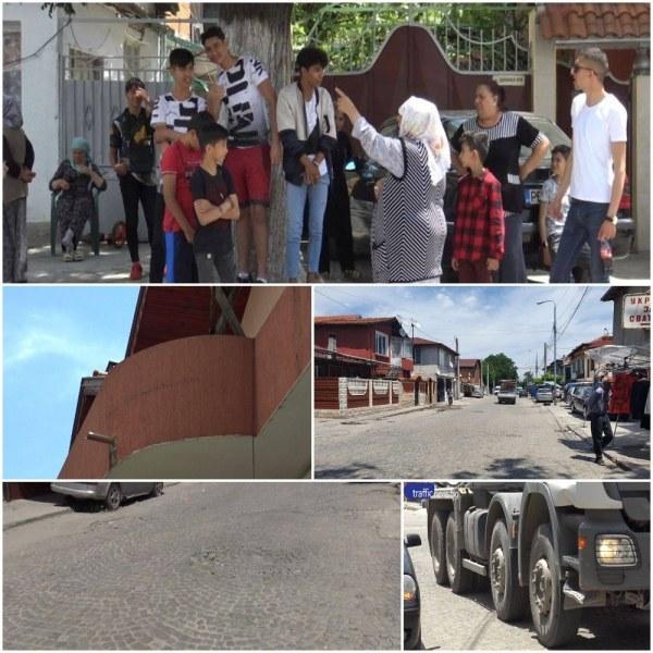 След закана за протест: Спират движението на камиони през Шекер махала