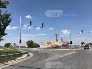 Хаос и задръстване на Околовръстното заради неработещ светофар