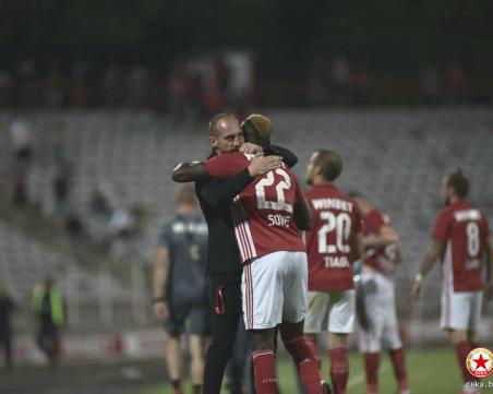 ЦСКА и Лудогорец завъртяха зрелищно реми след три греди и отменен гол