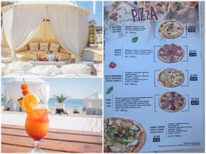 Няма туристи ли? 50 лева за пица, фреш и кафе на бийч бар в Лозенец