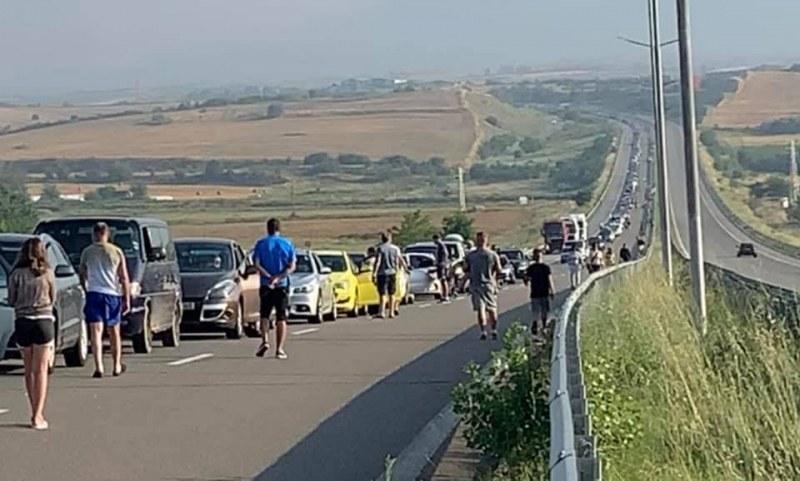 """10 километра е опашката на единствения вход за Гърция – ГКПП """"Кулата"""""""