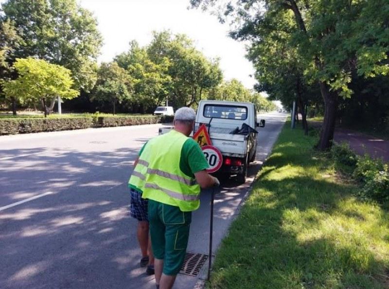 Чистят по график шахтите в Пловдив, вижте къде да не спирате автомобилите си