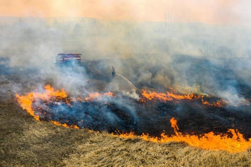 Настъпи пожароопасният сезон в област Пловдив, обявиха мерките за безопасност