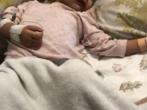Ново изпитание пред 2-годишната Зария, състоянието ѝ се влошава
