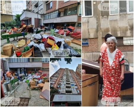Изхвърлената пловдивчанка в Изгрев – от месеци не плащала наем, отказвала да напусне квартирата