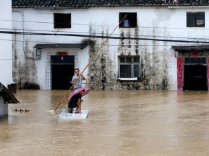 Наводнения взеха две жертви в Южен Китай