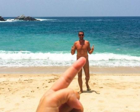 Супер глоба от 3300 евро отнесоха нудисти на плаж в Италия