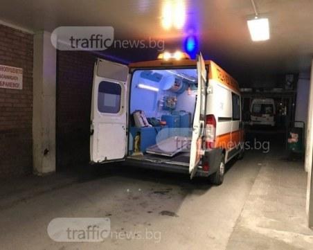 Инцидент край Пловдив! Желязо затисна работник, линейка и пожарна са на място