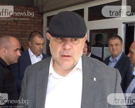 Спецоперация в Габрово, Иван Гешев отива на място