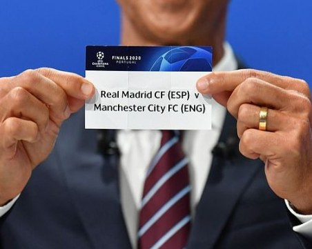 Жребият сблъска фаворитите в Шампионската лига още преди финала