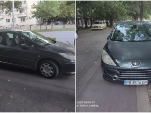 Велоалеите в Пловдив са за велосипеди, а не за паркинг на автомобили!