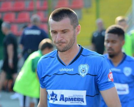Голмайсторът на Черно море отпадна за мача с Ботев – с COVID-19 e