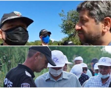 Симпатизантите на ДПС са край  Росенец,  протестиращите - блокирани на пътя