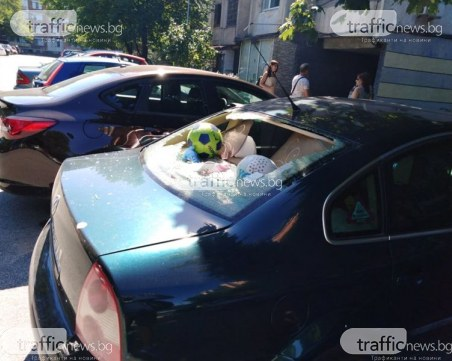 Пиян и неадекватен мъж изпотрошил стъклата на шестте автомобила в Пловдив