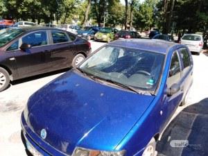 35-годишен изпотрошил колите на Цариградско шосе след скандал с приятелката си