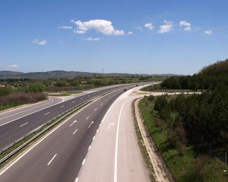 Ремонтът на проблемния участък на магистрала