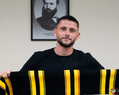 Ботев привлече македонски национал
