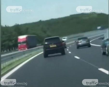 Нереализирани рали пилоти се правят на каскадьори на магистралата
