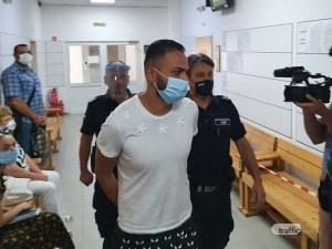 Ангел Рашков с белезници в съда! Прокуратурата му иска постоянен арест