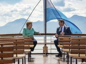 Меркел с безпрецедентен намек кого счита за свой наследник