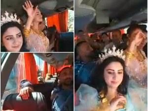 Сватбари се натъпкаха един върху друг в автобус, тръгнаха на баня край Пловдив