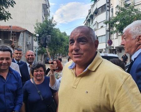 Бойко Борисов в Пловдив: Какво не сме направили за града? Обещах - няма да има оставка!