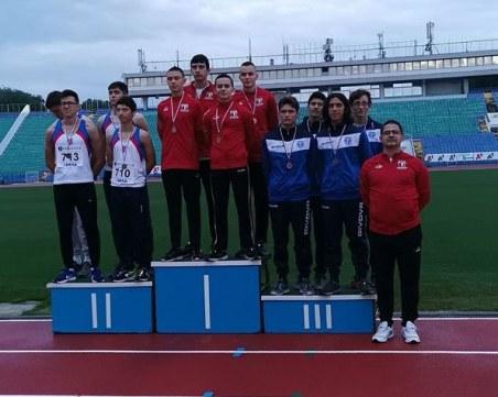 Младите атлети на Локомотив с впечатляващо представяне на държавното
