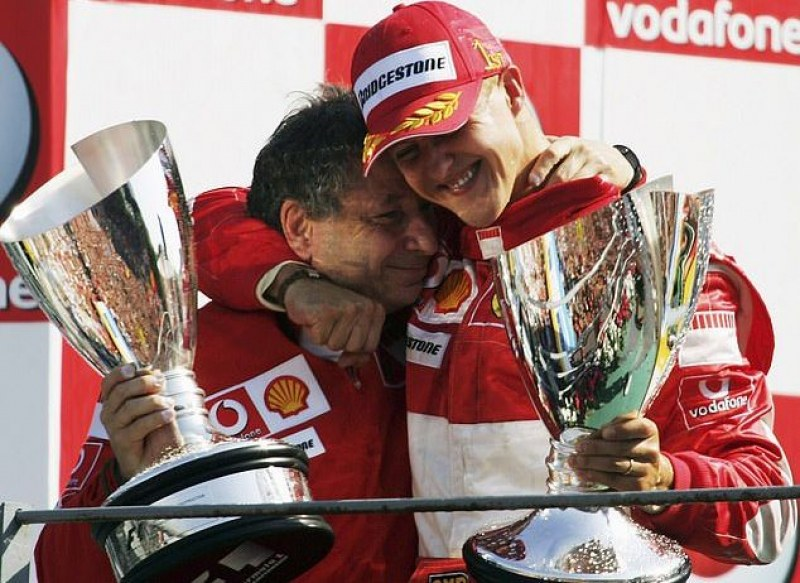 Жан Тод даде нови надежди за състоянието на Шумахер