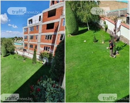 Новите строежи на д-р Енчев: Без мрежа, боклуци падат в дворовете на съседи