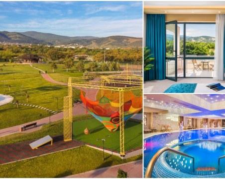 Хотелът-оазис край Пловдив с топ оферти за най-желания месец за почивка