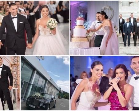 Сватбата на Ерол и Христина Садъкови - по-красива и от приказка