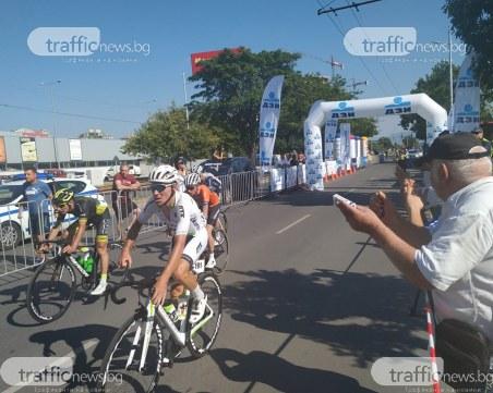 Италианец облече жълтата фланелка в Пловдив на Обиколката на България