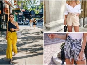 Най-модерните панталони и шорти за летния период